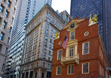 Boston Old State House in Massachusetts Royalty Free Stock Photo