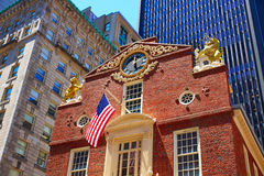 Boston Old State House in Massachusetts Royalty Free Stock Image