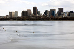 Boston panorama Stock Photos