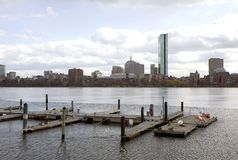 Boston panorama Stock Image