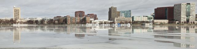 Boston panorama Stock Images