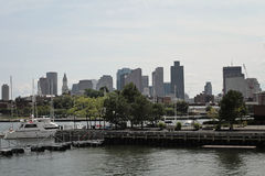 Boston panorama. Panorama of downtown Boston, USA Royalty Free Stock Image