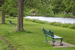 Boston park Royalty Free Stock Images