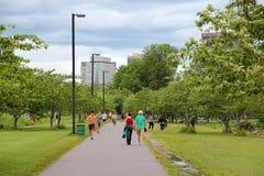 Boston park Stock Images