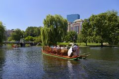 Boston, Parks Royalty Free Stock Photo