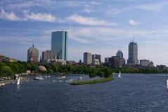 Boston pelo Charles imagem de stock