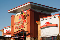 Boston Pizza Royalty Free Stock Images