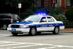 Boston Police Cruiser Stock Images