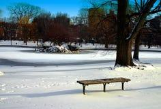 Boston Public Garden Stock Images