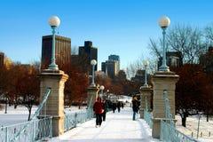Boston Public Garden Royalty Free Stock Photos