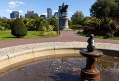 Boston Public Garden Royalty Free Stock Images