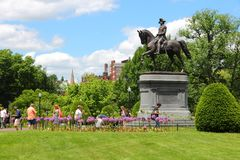 Boston Public Garden Stock Photography