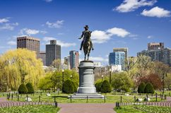 Boston Public Garden Royalty Free Stock Images