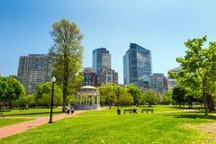 Boston Public Garden in Massachusetts Royalty Free Stock Photography