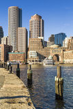 Boston Public Garden in Massachusetts, USA Stock Images