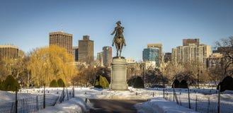 Boston Public Garden Stock Photos