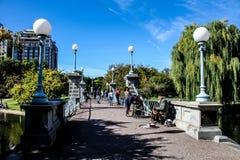 Boston Public Gardens Royalty Free Stock Photo