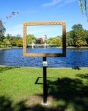 Boston Public Gardens Stock Photos