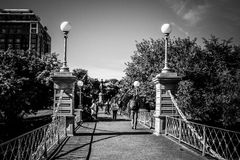 Boston Public Gardens Stock Images