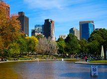 Boston Public Gardens Royalty Free Stock Images