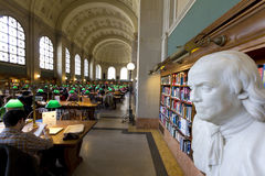 Boston Public Library Royalty Free Stock Images