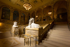 Boston Public Library Royalty Free Stock Photos