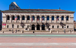 Boston Public Library Stock Image