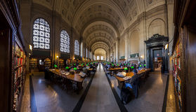 Boston Public Library Royalty Free Stock Photography