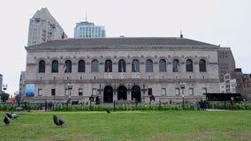 Boston Public Library, Boston, USA, stock video footage