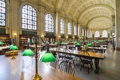 Boston Public Library Stock Image