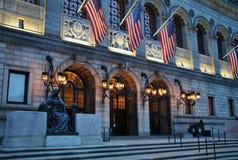 Boston Public Library Royalty Free Stock Photography