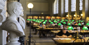 Boston Public Library Stock Images