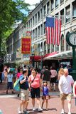 Boston - Quincy Market Stock Image