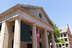 Boston Quincy rynku fasada w Massachusetts zdjęcie stock