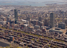 Boston-rückseitige Schachtantenne lizenzfreies stockbild