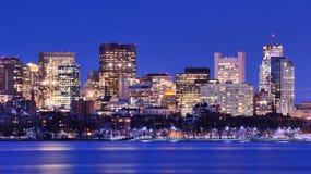 Boston-rückseitiger Schacht Stockbilder