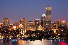 Boston-rückseitiger Schacht Stockfoto