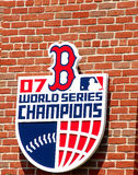 Boston Red Sox 2007 World Champion Logo Stock Photography