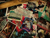 Boston Red Sox Collage. A collage of memories related to the Boston Red Sox through the years Stock Images