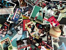 Boston Red Sox Legends Collage. A collage of memories related to the Boston Red Sox through the years Stock Photos