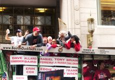 Boston Red Sox 2018 Parade royalty free stock photography