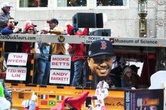 Boston Red Sox 2018 Parade royalty free stock image