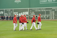 Boston Red Sox relief pitchers Royalty Free Stock Images