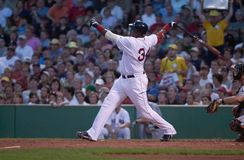 Boston Red Sox slugger David Ortiz arkivbilder