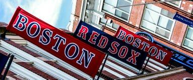 Boston Red Sox sztandary Fotografia Stock