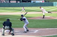 Trot Nixon. Boston Red Sox OF Trot Nixon. Image taken from color negative Royalty Free Stock Image