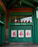 Boston Red Sox Will Call Ticket Window. Royalty Free Stock Photos