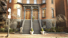 Boston residential Home Stock Image