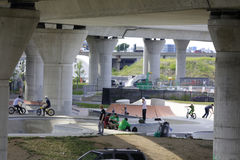 Boston-Rochen-Park Lizenzfreies Stockfoto