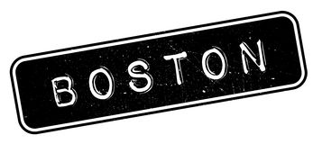 Boston rubber stamp royalty free illustration
